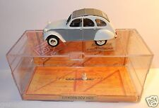 OLD MADE IN FRANCE NOREV CITROEN 2CV 1975 DOLLY BLANC GRIS BOX 1/43 ref 151400