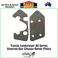 BMR Steering Box Chassis Repair Plates suits Toyota Landcruiser 80 & 105 Series
