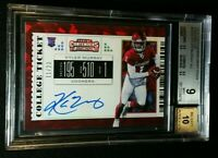 BGS 9/10 POP 4 1/1 SUBS KYLER MURRAY RC AUTO CRACKED ICE #'D /23 2019 Contenders