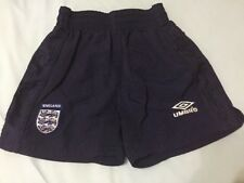Rare England Football  shorts for boys size 9/10 years umbro