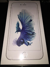 (BRAND NEW) APPLE iPHONE 6S PLUS 64GB SILVER GSM SMARTPHONE (FACTORY UNLOCKED)