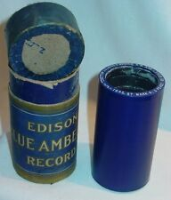 Edison Cylinder Blue Amberol Record #1642 St. Mark 4 & Peace Be Still
