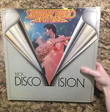 Saturday Night Fever MCA Disco Vision Laserdisc