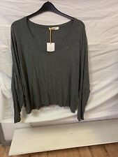 Marks And Spencers Long Sleeved Top Size 24 BNWT