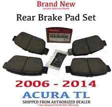 2009- 2014 Acura TL Genuine Factory OEM Rear Brake Pads (43022-TK4-A00