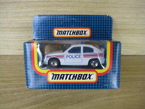 MATCHBOX SUPERFAST     MB8  OPEL KADETT POLICE       ABSOLUTELY MINT