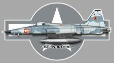 F-5E-NORTHROP  Sticker