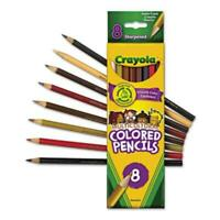 Crayola Crayola Multicultural Colored Woodcase Pencils - 3.3 Mm Lead Size -