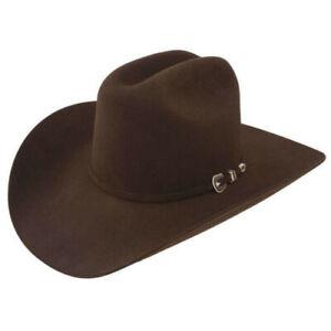 Resistol George Strait City Limits 6X Chocolate Felt Cowboy Hat