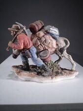 +# A011956_01 Goebel Archiv Muster Goldgräber mit Esel Donkey gold digger 16-127