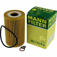 Original MANN-FILTER Ölfilter Oelfilter HU 715/4 x Oil Filter