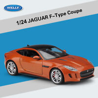 1:24 Welly Diecast Model Cars Toys Jaguar F-TYPE Coupe Detailed Alloy Collection