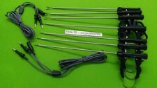 Laparoscopic Bipolar Plate Type Spring Handle and Cable Surgical Instruments-9Pc