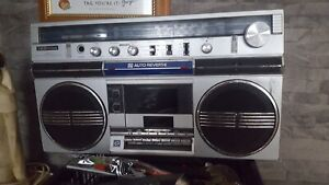 Toshiba Large Ghetto Blaster 80s Radio Cassette Player