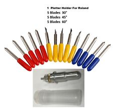 Blade Holder For Roland GCC  + 15 Free Blade  Cutting Plotter