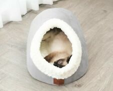 Miss Meow Pet Cave And Mat! Cozy Shape And Self-Warming That Your Pet Will Love!