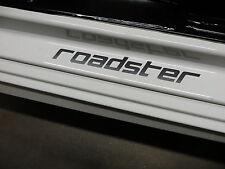 (2pcs) ROADSTER doorstep badge decal - BLACK