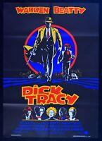 Werbeplakat Dick Tracy Warren Beatty Madonna Al Pacino Thriller M33