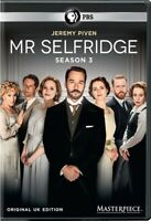 MR SELFRIDGE SEASON 3 New Sealed 3 DVD Set Original UK Edition PBS Masterpiece