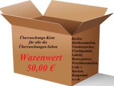 ★ MHD Süßigkeiten Box 50 ★ mind. 4000 g leckere Süßwaren u.v.m ★( Kg / 4,99 € )