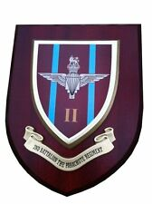 2 nd Parachute Regiment Military Shield Wall Plaque