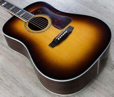 Guild D-55 Dreadnought Acoustic Guitar Ebony Fretboard Antique Sunburst + Case