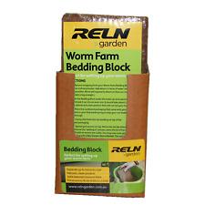 Reln Garden Coir Fibre Bedding Block for Worm Farms Compost Bins Coconut Fibre