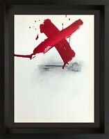 Antoni TAPIES Lithograph ORIGINAL LIMITED Ed. Color Lithograph 1973