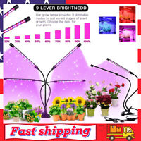 4 Heads LED Grow Light Plant Hydroponics Growing Lamp Lights for Indoor Plants