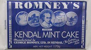 Kendal Mint Cake Romney's White Kendal Mintcake   2 x 170g Bar