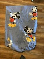 Vintage Disney Rare Mickey Mouse Twin Fitted Sheet