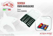 Scatola Valigetta Vuota AQS Porta Dischi Avvolgilenza in Abs Made in Italy