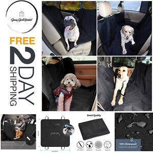 Luxury Pet Car SUV Van Back Rear Bench Seat Cover Dog Cat Waterproof Hammock