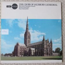 THE CHOIR OF SALISBURY CATHEDRAL - Christopher Dearnley - Argo LP Vinyl Record