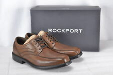 Men's Rockport Style Crew Bike Oxford Loafer Truffle Tan 8M