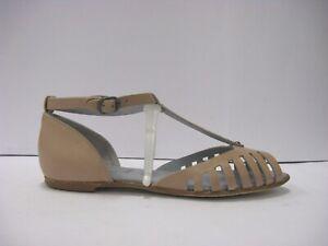 LILIMILL 6650 sandalo ragnetto pelle cipria fondo cuoio prodotto italiano
