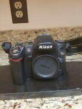 Vintage Nikon D80 DIGITAL Camera Body With Nikon Strap Restoration or Parts