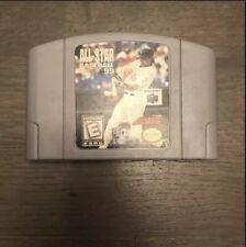 N64 ALL STAR BASEBALL 99  GAME CARTRIDGE NINTENDO 64 N-64