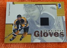 SERGEI SAMSONOV BAP MEMORABILIA 2003-04 GAME USED GLOVES CARD GUG-14
