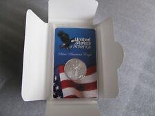 New listing American Silver Eagle 2016 1-oz Silver Coin Eagle & Flag in Acrylic Folder
