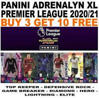 PANINI PREMIER LEAGUE 2020/21 ADRENALYN XL FOIL CARDS #370-#467 ELITE/ HERO ETC