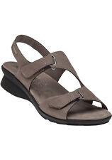 55c7430f29 Mephisto Paris Pewter Strappy Comfort Sandal Women's Sizes 35-42 NEW!