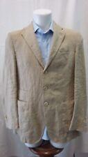 giacca jacket uomo puro lino Burberry taglia 48