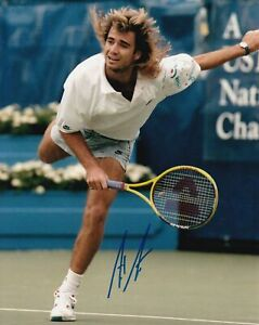 Andre Agassi Autographed Signed 8x10 Photo REPRINT ,