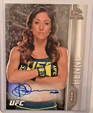 JESSICA PENNE 2015 TOPPS UFC CHAMPIONS AUTOGRAPH #FA-JP