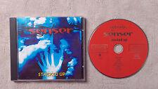 "CD AUDIO MUSIQUE INT / SENSER ""STACKED UP"" 13T 1994  CD ALBUM"