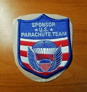 U.S. Parachute Team Sponsor Patch, Brand New. Several up for sale. Rigger owned.
