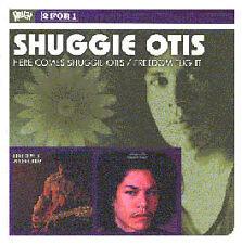 SHUGGIE OTIS HERE COMES SHUGGIE OTIS & FREEDOM FLIGHT CD NEW