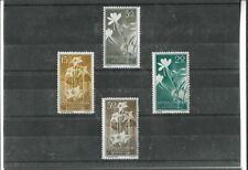 Guinea Española Flores Serie del año 1956 (ED-65)