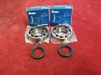 Kawasaki KMX 125 1986-1998 crank bearings & seals.Koyo.New